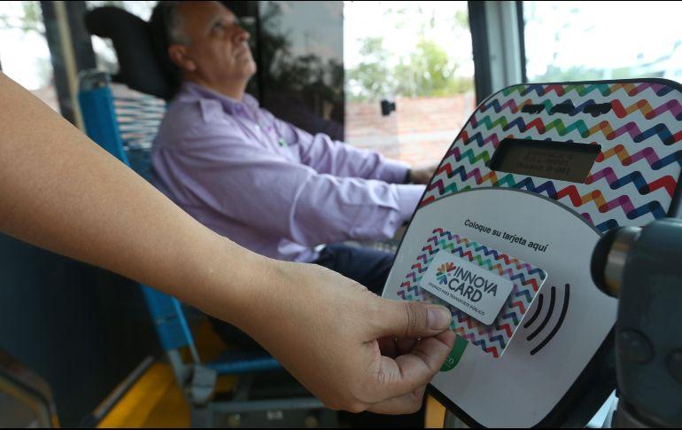 Durante la adminsitración de Aristóteles Sandoval sólo se instalaron lectores de tarjetas electrónicas en 25% de los autobuses. EL INFORMADOR/Archivo
