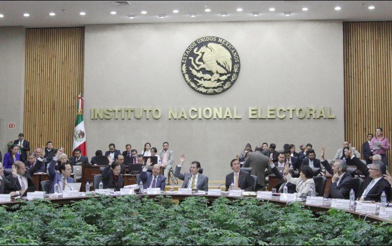 El INE aprobó en comisiones todos los preparativos del proceso electoral en la entidad. NTX/ARCHIVO