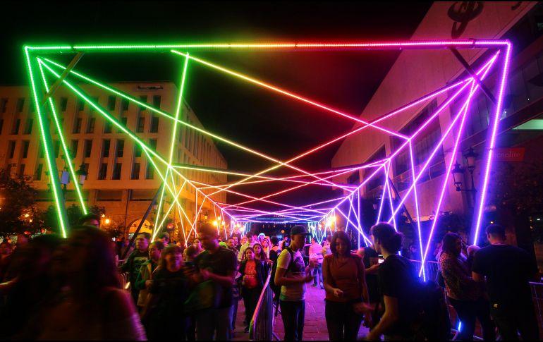 El director creativo del festival explicó que este año la Zona Led contará con el doble de espacio tras la gran demanda de asistentes. CORTESÍA