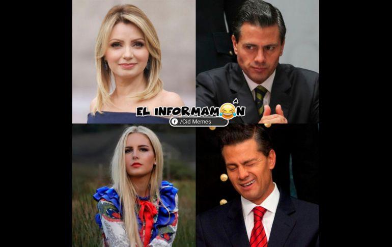 Los memes del divorcio entre Peña Nieto y