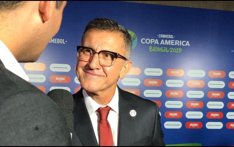 Juan Carlos Osorio deja a la selección de Paraguay