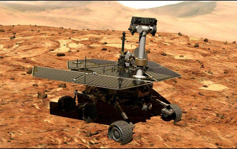 Nasa pierde contacto con el robot explorador en Marte — Opportunity