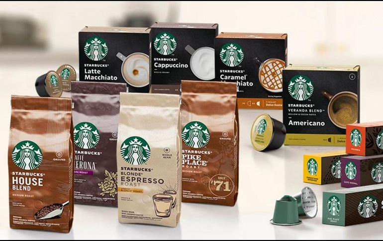 Nestlé lanza línea de 24 productos Starbucks