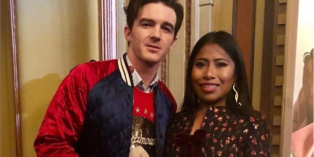 Drake Bell felicita a Yalitza Aparicio