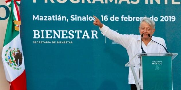 La justicia llegará para el pueblo de México: López Obrador