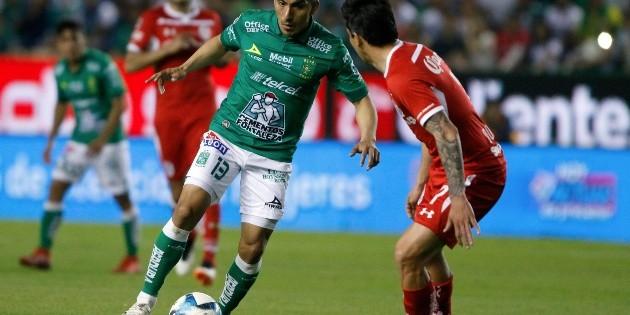 León gana su cuarto partido al hilo a costa de Toluca