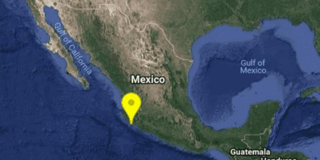 Registran sismo de 5.2 grados en Manzanillo