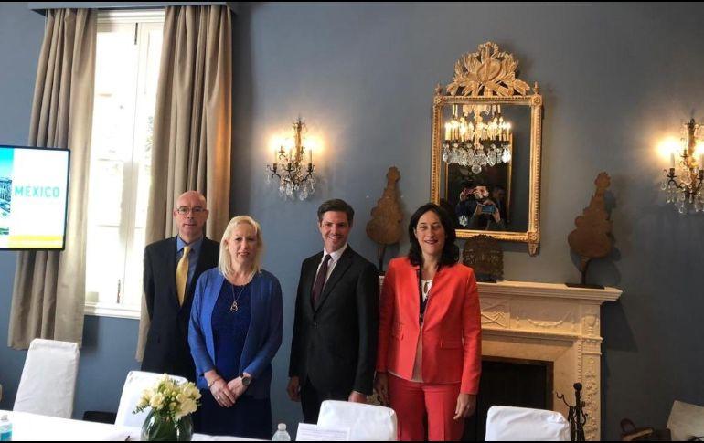 La princesa Astrid de Bélgica encabeza misión económica en visita a México