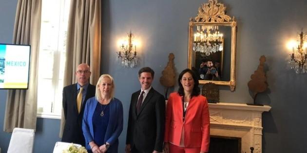 Empresas de Bélgica buscan participación en proyectos mexicanos