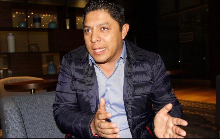 Ricardo Gallardo será independiente; estuvo en el partido 17 años. NTX / ARCHIVO