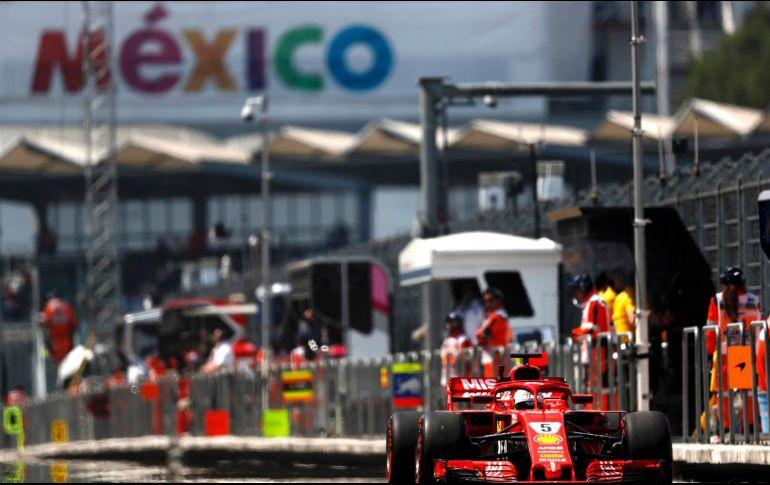 Anuncian fechas de venta de boletos para el GP de México