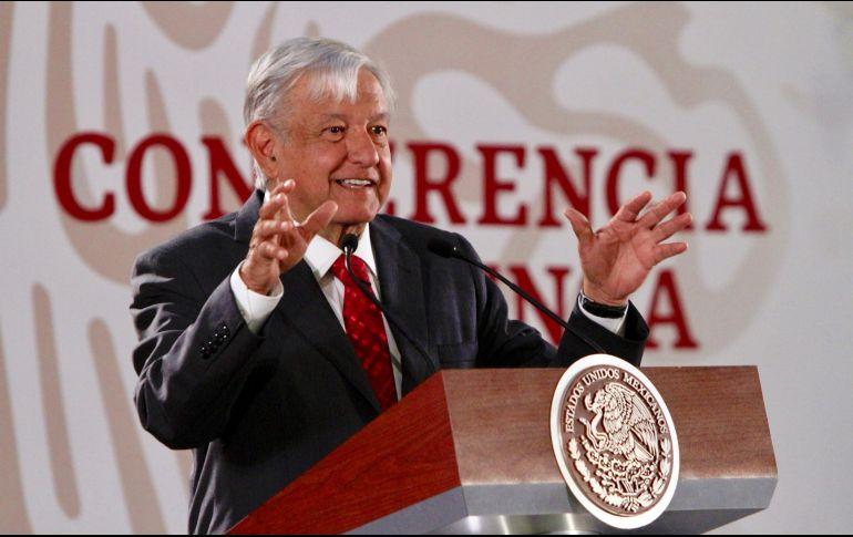 0dbefa933c AMLO se expresó luego de que el gobierno de Estados Unidos pidió a México  reconocer a