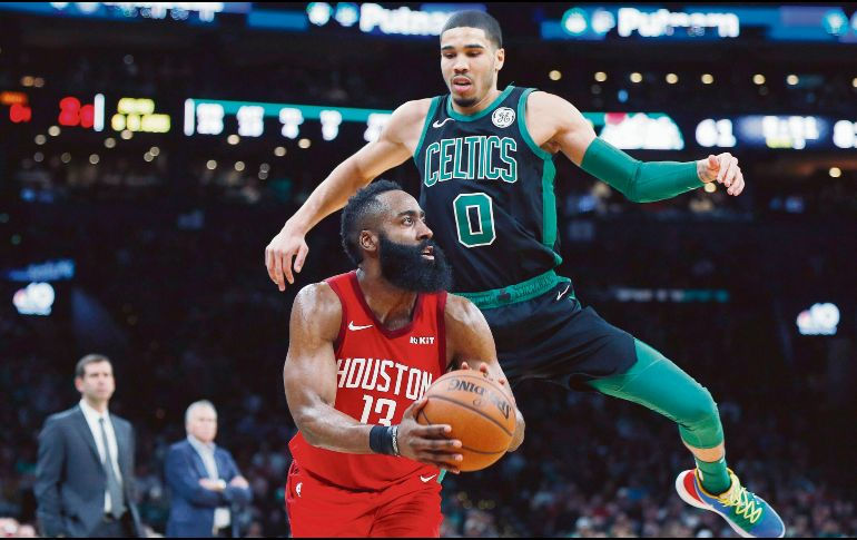 James Harden asalta el Boston Garden