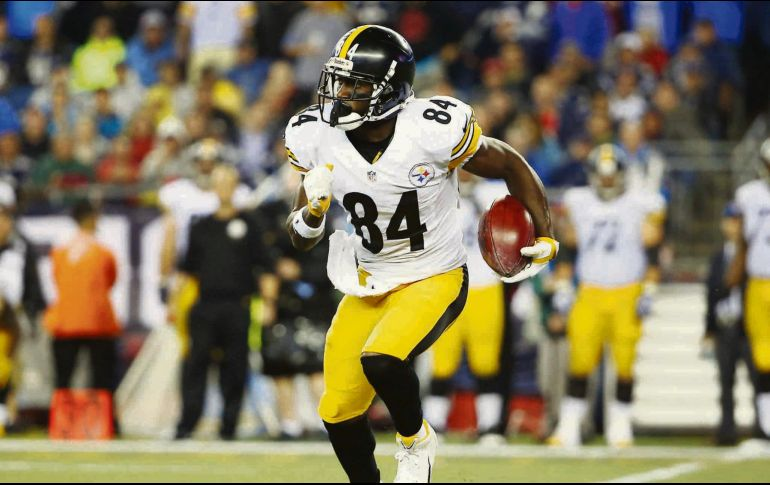 Antonio Brown llegó a los Steelers de Pittsburgh en 2010 0e791e6558b