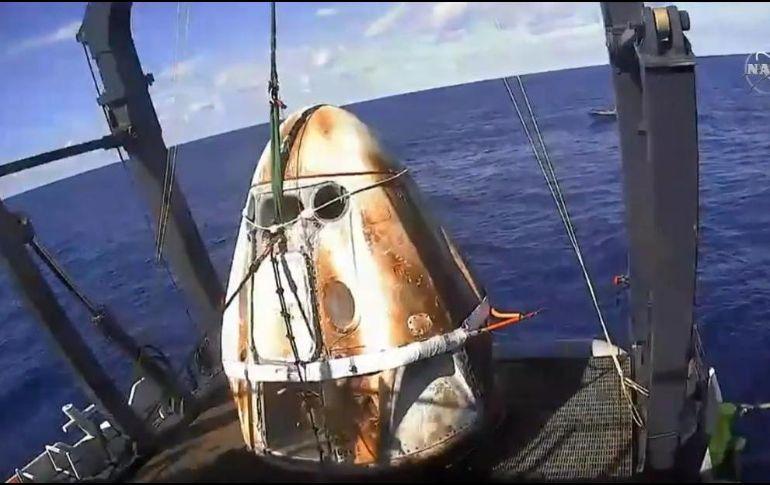Momento de la verdad para la cápsula de SpaceX