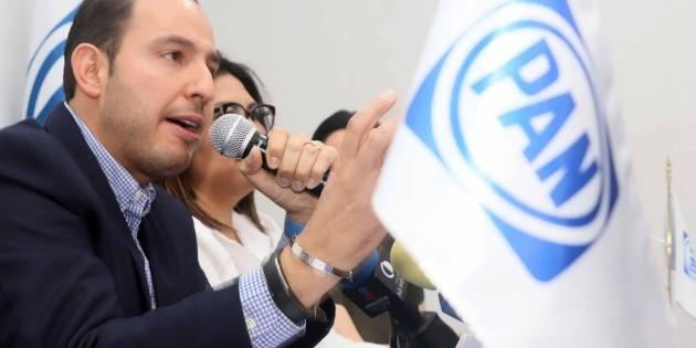 Marko Cortés llama al PAN a refrendar triunfo en Puebla