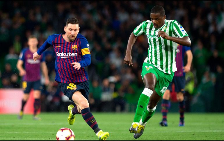 Messi y Suárez brillan en goleada del Barcelona ante el Betis