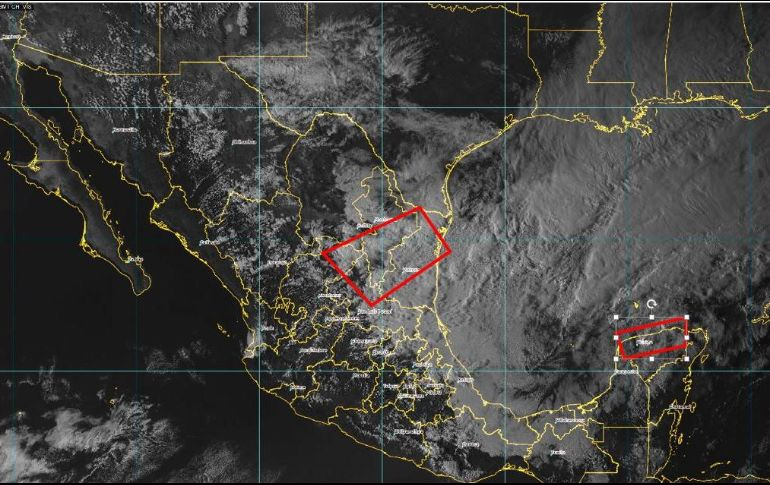 El SMN alerta por fuertes tormentas en 11 estados del país