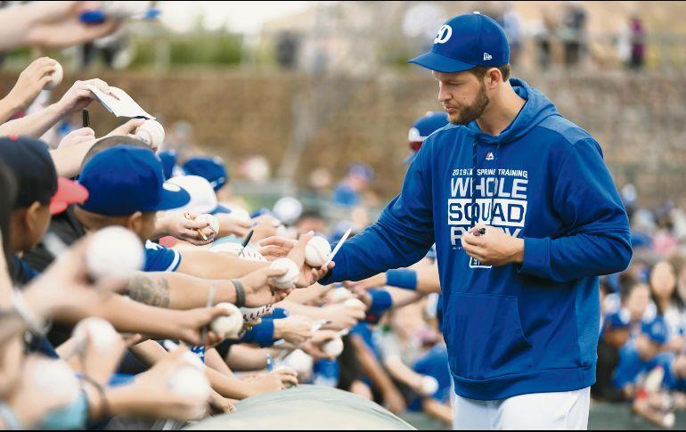 Dodgers descartan a Kershaw como abridor en el día inaugural