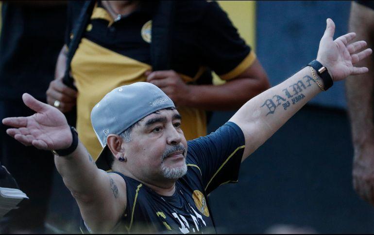 Para Maradona,