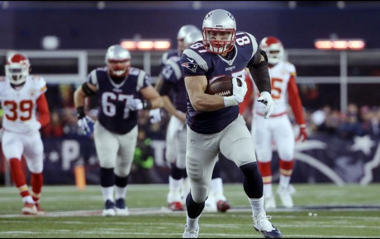 Rob Gronkowski dice adiós a la NFL