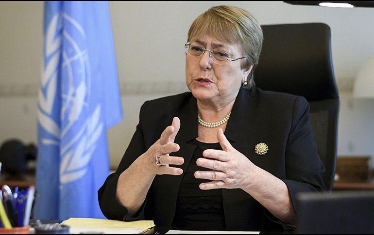 Michelle Bachelet anuncia su visita a México
