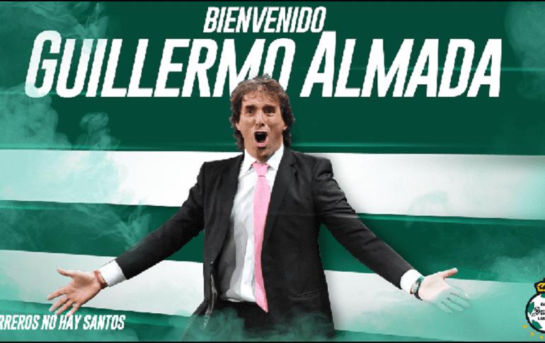 Guillermo Almada, nuevo DT de Santos — Oficial