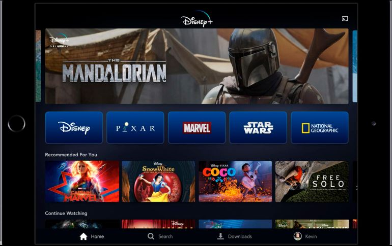 Plataforma Digital De Disney Que Compite Contra Netflix Lista Para