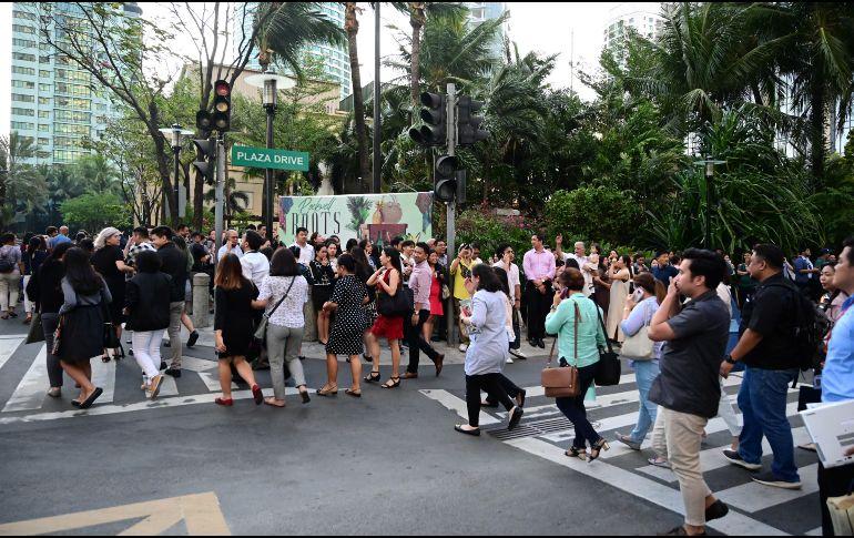 Sismo de magnitud 6.3 deja cinco muertos en Filipinas
