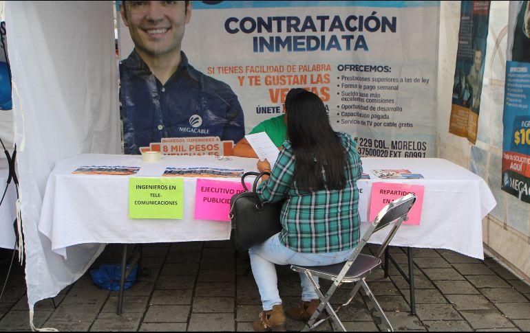 Marzo registra el mayor nivel de desocupación en la actual administración