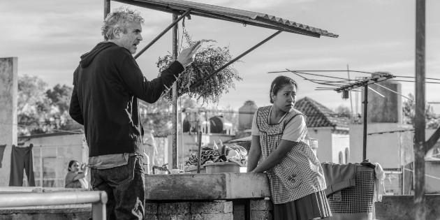 'Roma' es muy buena película, la vi en Semana Santa, asegura López Obrador