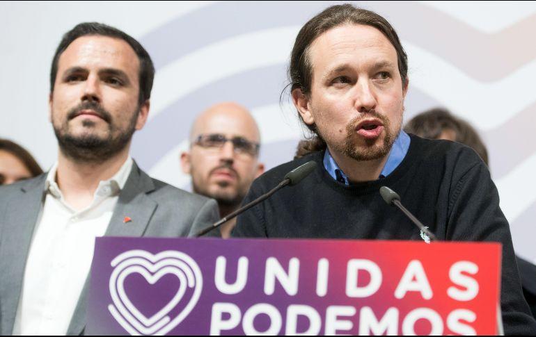 Pablo Iglesias deja Vallecas y vota en Galapagar