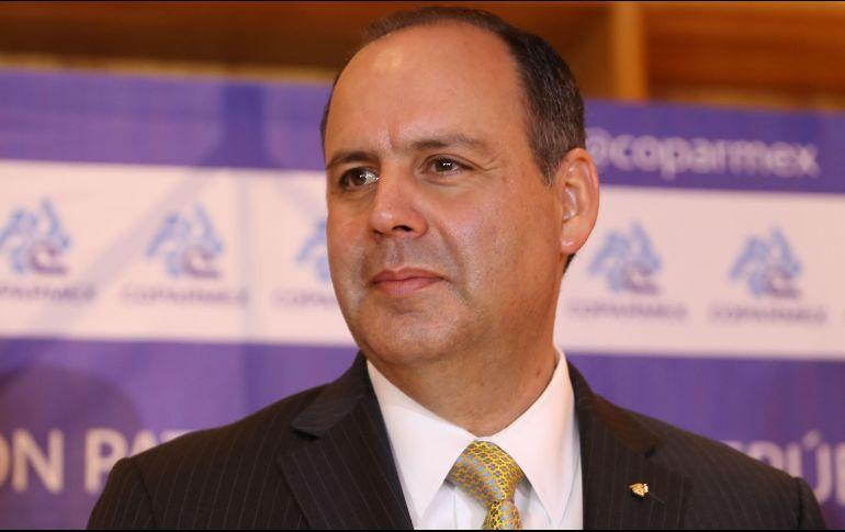 El líder Patronal, Gustavo de Hoyos dijo que el gobierno actual se está convirtiendo en la constructora de México. SUN / ARCHIVO