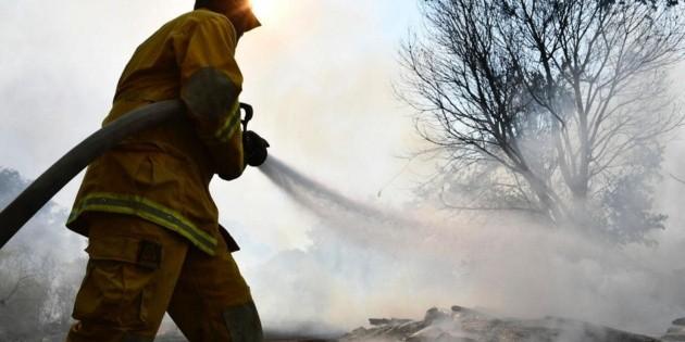 Atienden connato de incendio en Bosque La Primavera