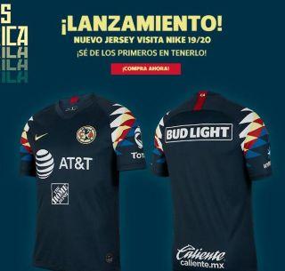save off 78d68 83d2c América presenta su uniforme de visitante para la temporada ...