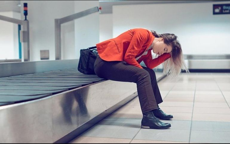 f3d264d12 Ese momento angustioso en el aeropuerto cuando te das cuenta de que tu  maleta ha desaparecido