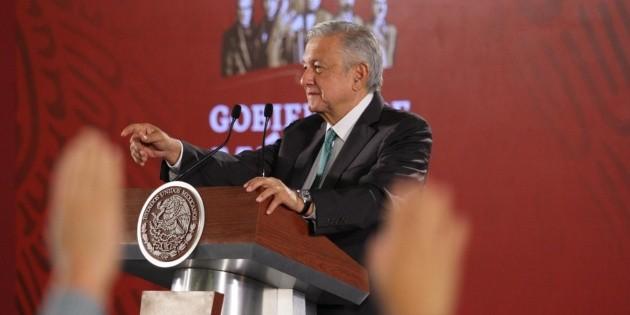 Peña Nieto recibirá mismo trato como todos los inculpados en caso Fertinal: AMLO