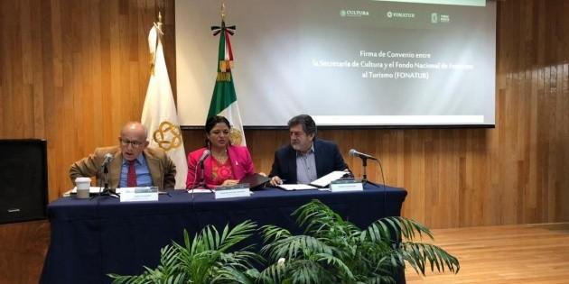 Convenio protegerá patrimonio cultural de ruta del Tren Maya