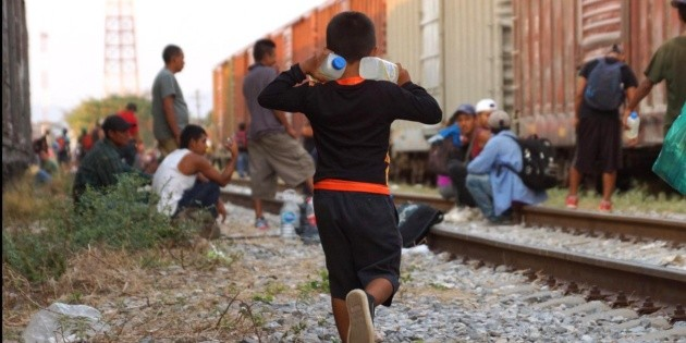 Aseguran a 146 migrantes centroamericanos en vivienda de Querétaro