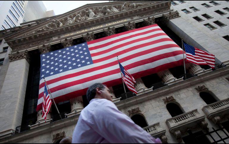 El NYSE Composite también cede 11.96 puntos (-0.09 por ciento) al ubicarse en 13 mil 008.02 unidades. AP / ARCHIVO
