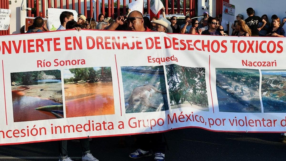 Exigen castigo a Grupo México