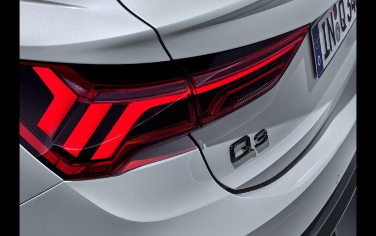 Llega la Q3 Sportback 2020, ahora con una apariencia más agresiva