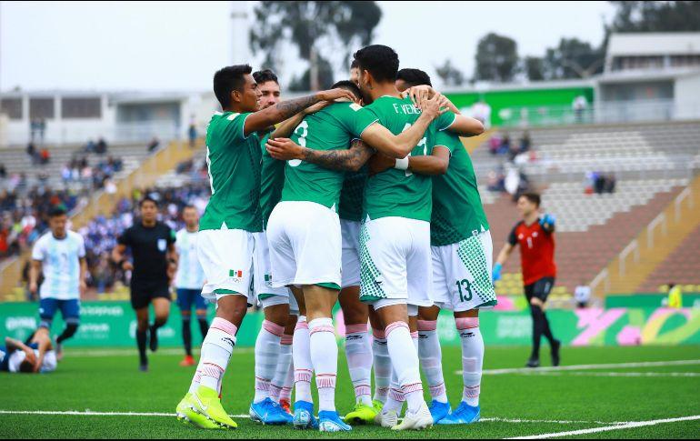 M U00e9xico Vence A Argentina Y Es L U00edder Del Grupo A En Lima