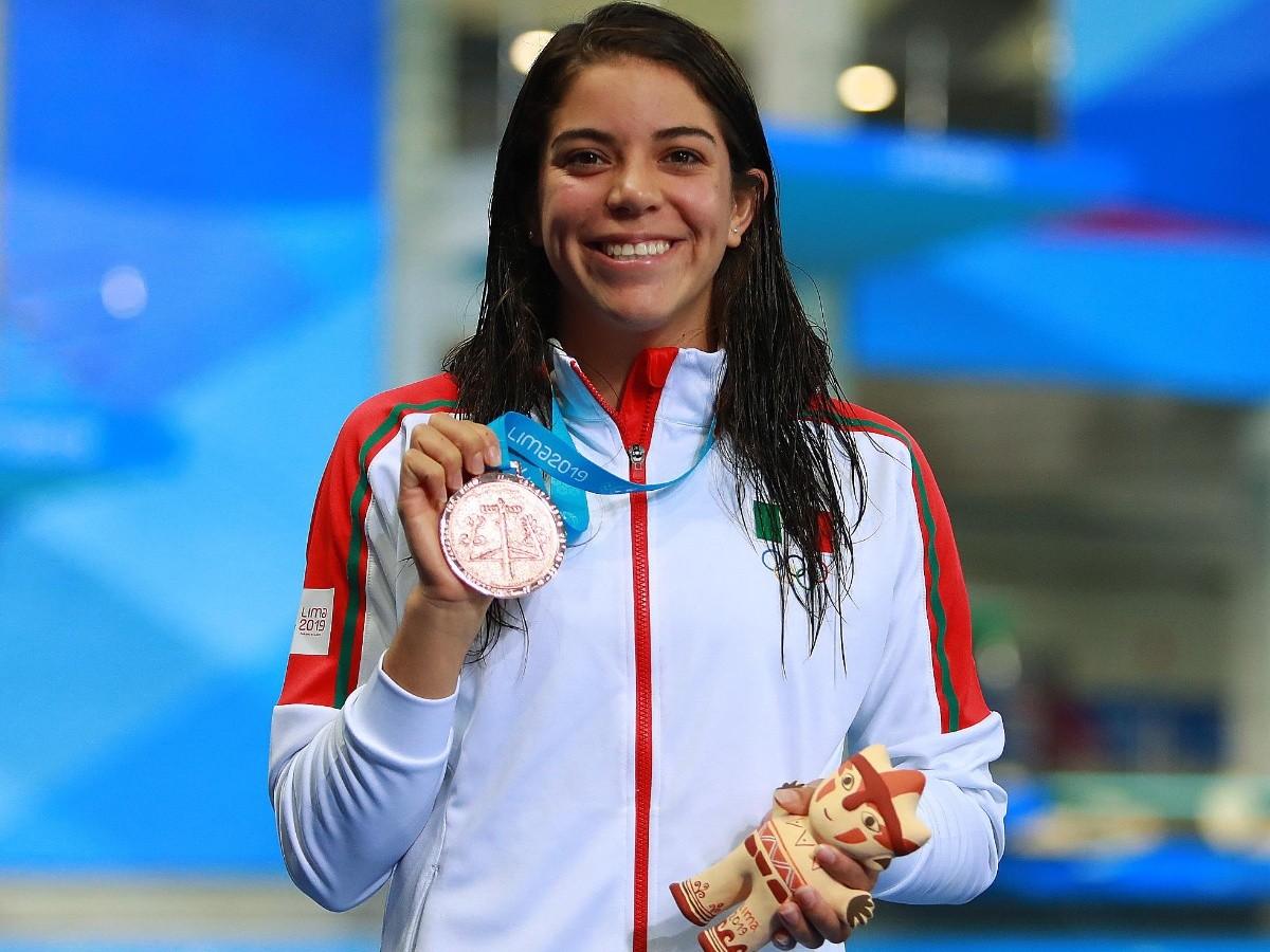 Resultado de imagen para Alejandra Orozco gana el bronce en plataforma de 10 metros en Lima 2019