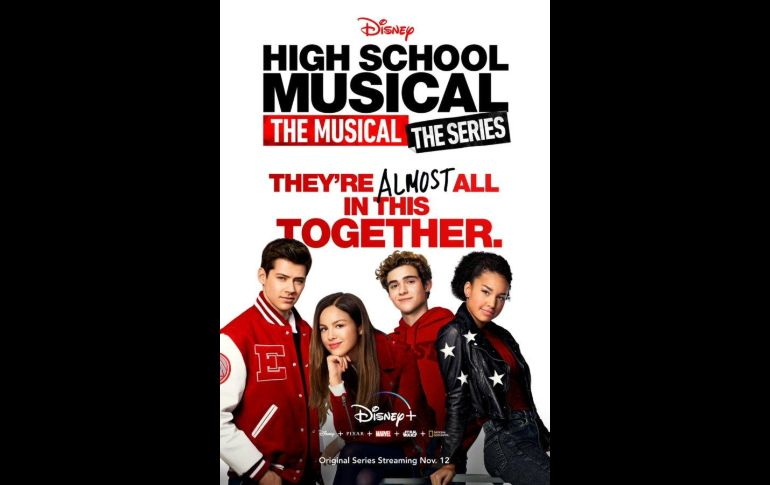 """High School Musical: The Musical Series�. TWITTER / DisneyPlus"