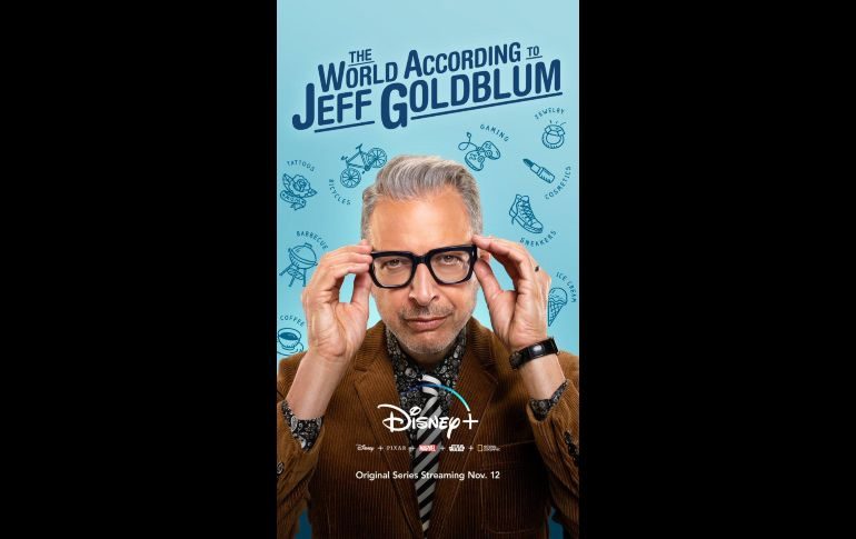 """The World According to Jeff Goldblum�. TWITTER / DisneyPlus"