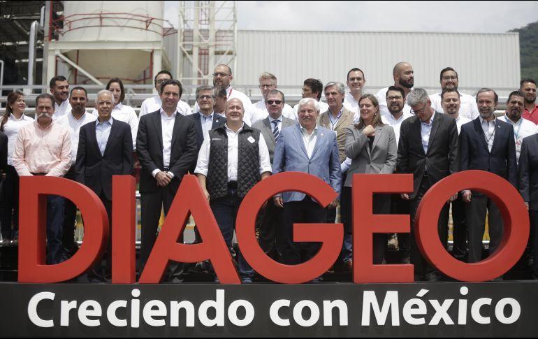 El gobernador de Jalisco, Enrique Alfaro, estuvo presente en la inauguración de la planta en Atotonilco. EL INFORMADOR/F. Atilano