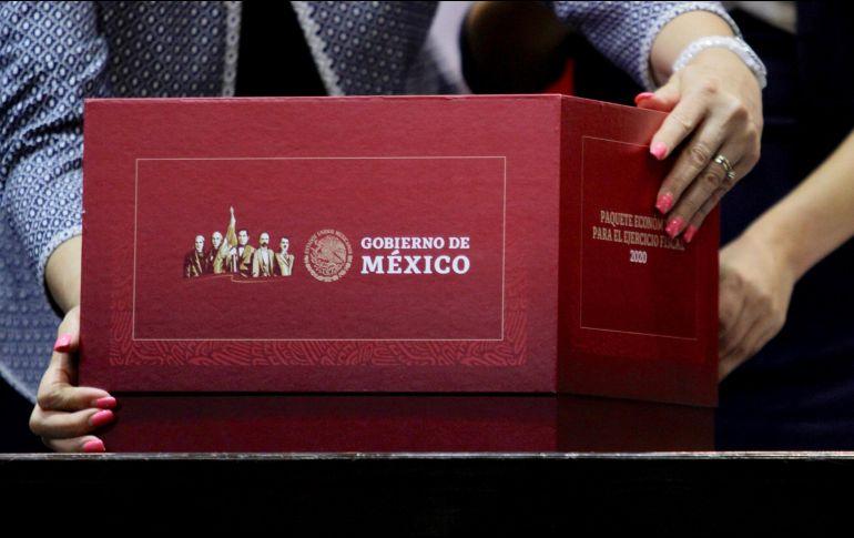 La propuesta forma parte del Paquete Económico 2020 presentado hoy a la Cámara de Diputados. NTX/A. Guzmán