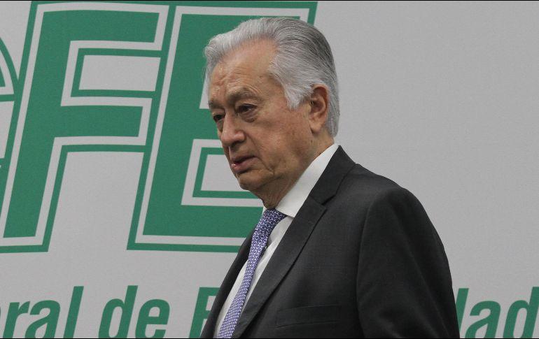 El director de la CFE es señalado de no haber incluido en su declaración patrimonial varios inmuebles. NTX / ARCHIVO