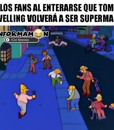 Reacciones a Tom Welling como Superman